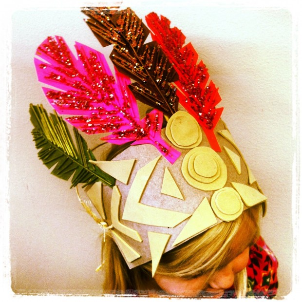 Our model HARVEST CROWN... a bit heavy, so we went lighter...