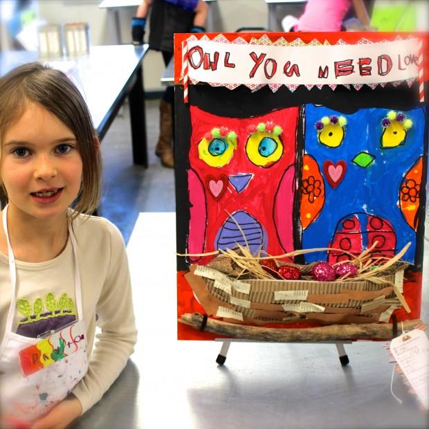 HANDMAKERY LOVE-ly Owls + Artist 3