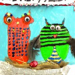 HANDMAKERY LOVE-ly Owls 5