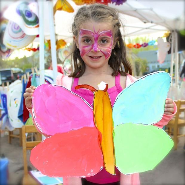 HANDMAKERY butterfly gir