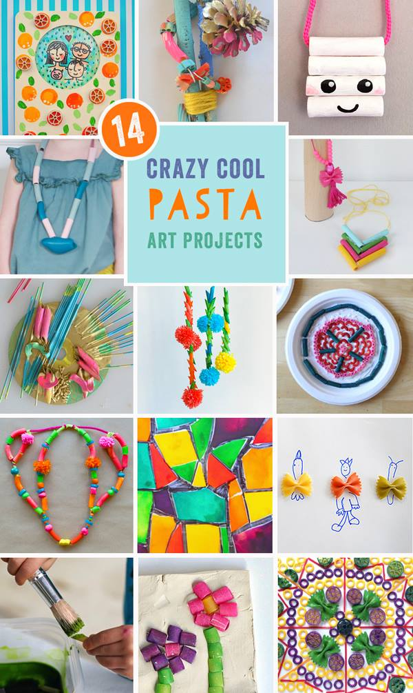 Crazy Cool Pasta Art Projects_Pin + Posts