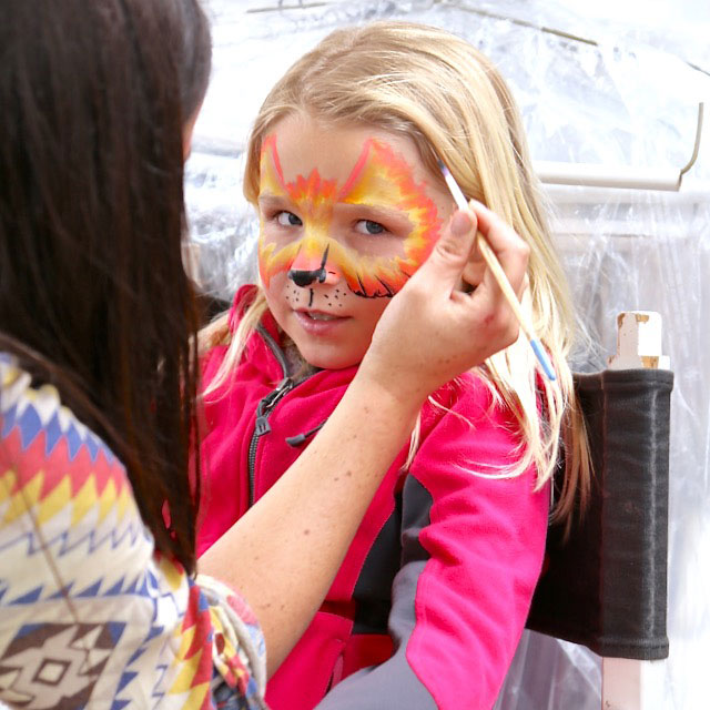 face painting | www.handmakery.com